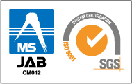 MS JAB CM012 ISO 9001 SYSTEM CERTIFICATION SGS